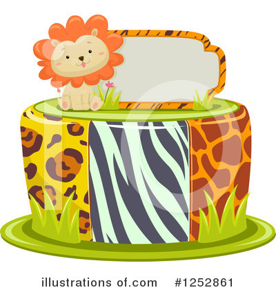 Zoo Animals Clipart #1252861 by BNP Design Studio