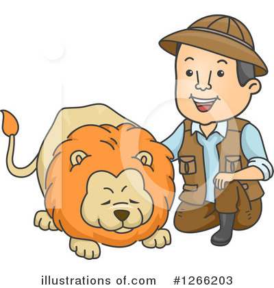 Lion Clipart #1266203 by BNP Design Studio