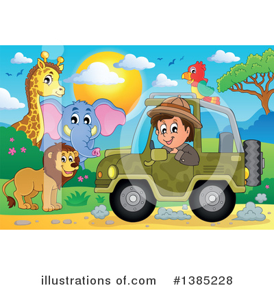 Zoo Clipart #1385228 by visekart