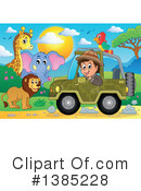 Royalty-Free (RF) Safari Clipart Illustration #1385228