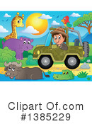Royalty-Free (RF) Safari Clipart Illustration #1385229