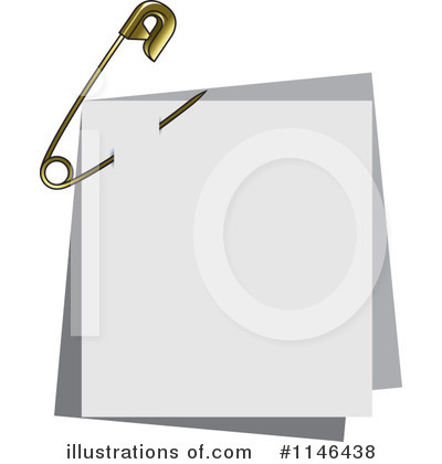 Safety Pin Clipart #1146438 by Lal Perera