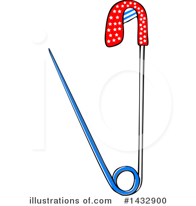 Safety Pin Clipart #1432900 by djart