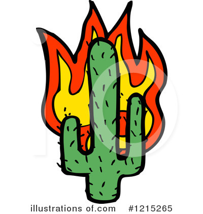 Saguaro Clipart #1215265 by lineartestpilot | Royalty-Free (RF) Stock ...