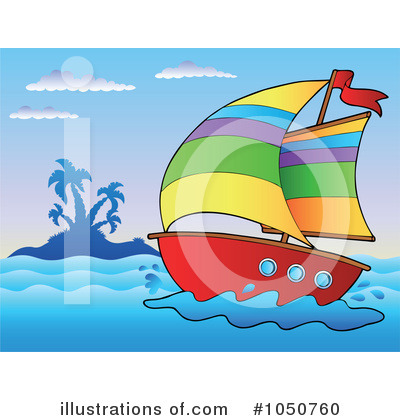 Sailboat Clipart #1050760 by visekart