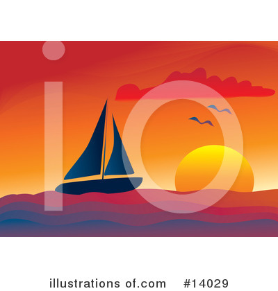 Sailing Clipart #14029 by Rasmussen Images