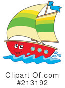 Sailboat Clipart #213192 by visekart