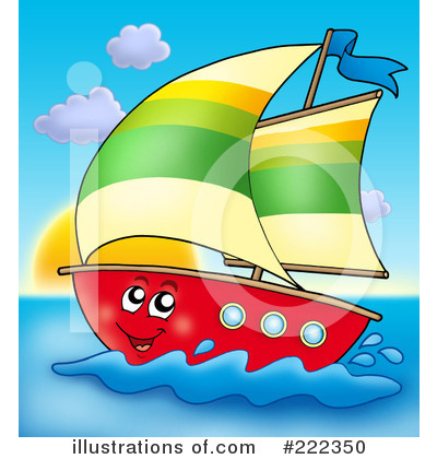 Sailboat Clipart #222350 by visekart