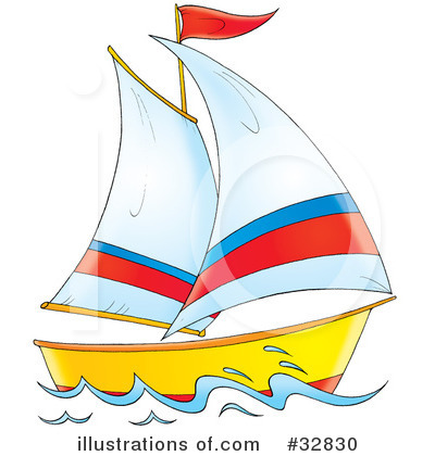 sailboat clipart 32830 illustration by alex bannykh rh illustrationsof com sailboat clipart png clipart sailboat