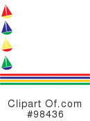 Royalty-Free (RF) sailboats Clipart Illustration #98436