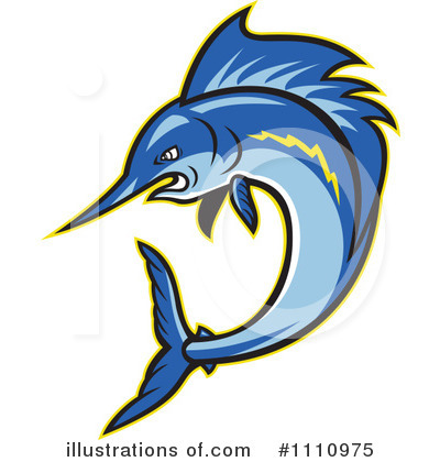 Marlin Clipart #1110975 by patrimonio