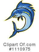 Royalty-Free (RF) Sailfish Clipart Illustration #1110975