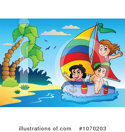 Sailboat Clipart #1070203 by visekart