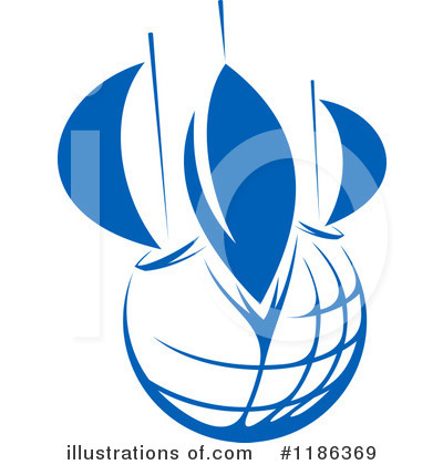 Sailboat Clipart #1186369 by Vector Tradition SM
