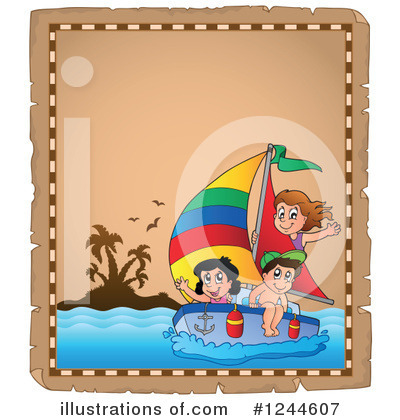 Sailboat Clipart #1244607 by visekart