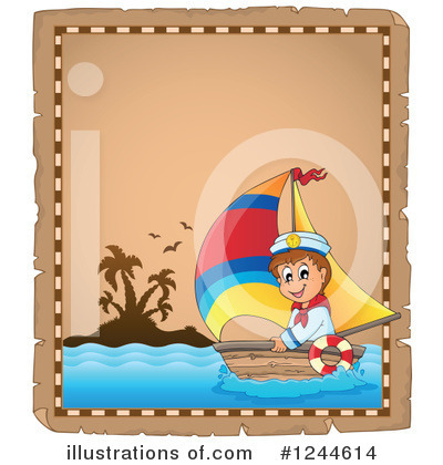 Sailboat Clipart #1244614 by visekart