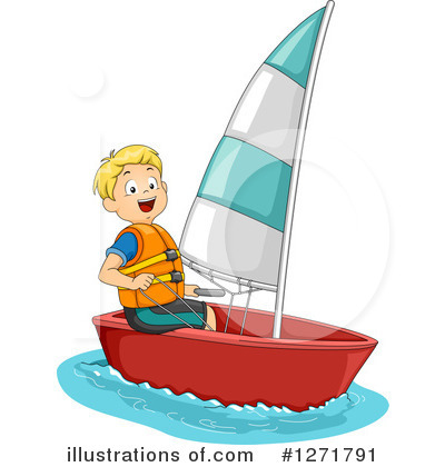 Royalty-Free (RF) Sailing Clipart Illustration #1271791 by BNP Design ...