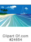 Sailing Clipart #24654 by Eugene