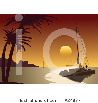 Yacht Clipart #24977 by Eugene