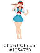 Royalty-Free (RF) sailor Clipart Illustration #1054763