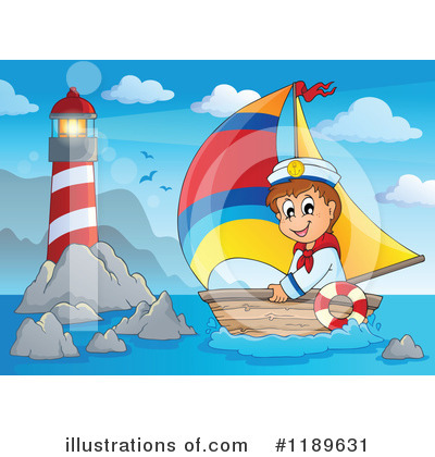 Sailboat Clipart #1189631 by visekart