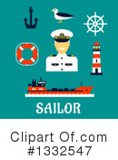 Royalty-Free (RF) Sailor Clipart Illustration #1332547