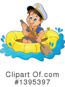 Royalty-Free (RF) Sailor Clipart Illustration #1395397