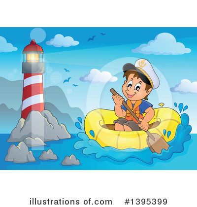 Royalty-Free (RF) Sailor Clipart Illustration by visekart - Stock Sample #1395399