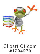 Sailor Frog Clipart #1294270 by Julos
