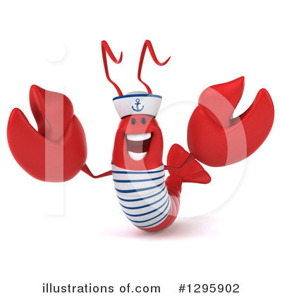 Sailor Lobster Clipart #1295902 by Julos