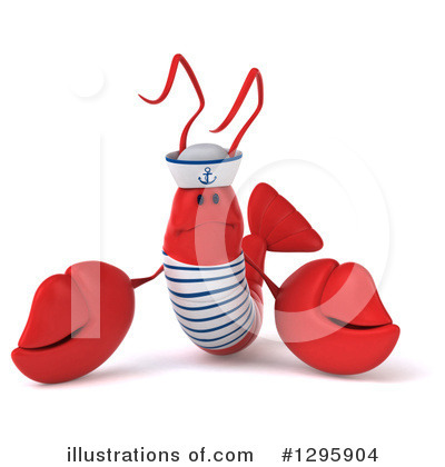 Sailor Lobster Clipart #1295904 by Julos