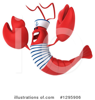 Sailor Lobster Clipart #1295906 by Julos