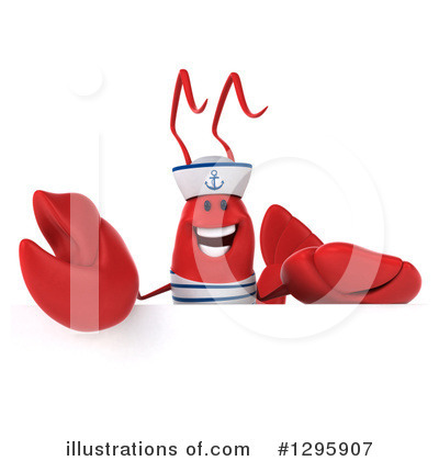 Sailor Lobster Clipart #1295907 by Julos