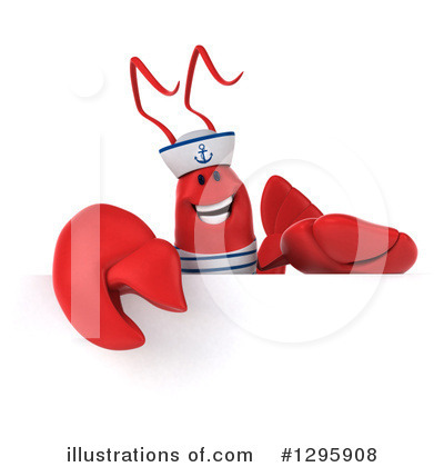 Sailor Lobster Clipart #1295908 by Julos