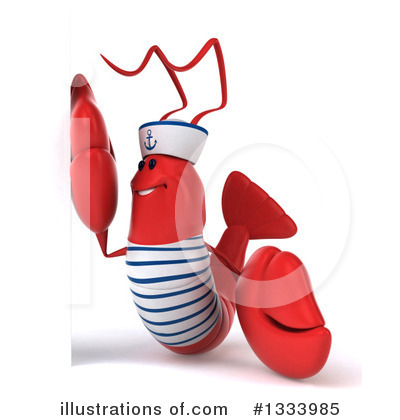 Sailor Lobster Clipart #1333985 by Julos