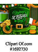 Saint Paddys Day Clipart #1692730 by Vector Tradition SM