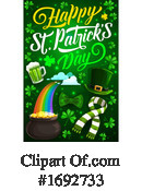 Saint Paddys Day Clipart #1692733 by Vector Tradition SM