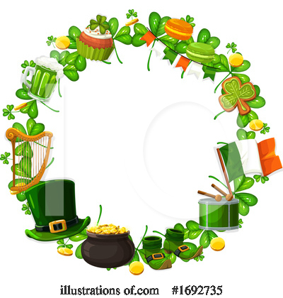 St Patricks Day Clipart #1692735 by Vector Tradition SM