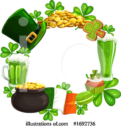 St Patricks Day Clipart #1692736 by Vector Tradition SM