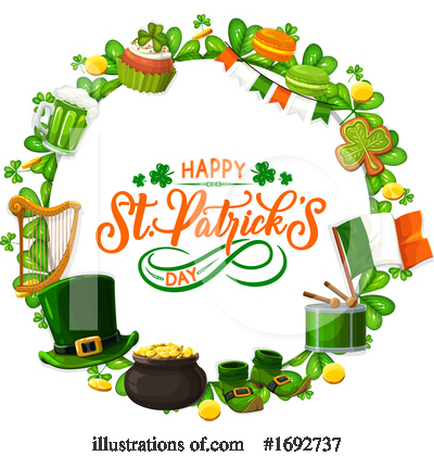 St Paddys Clipart #1692737 by Vector Tradition SM