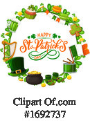Saint Paddys Day Clipart #1692737 by Vector Tradition SM