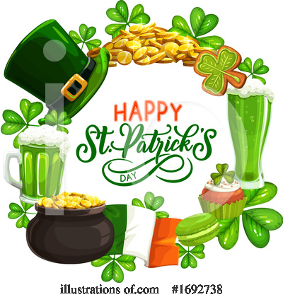 St Patricks Day Clipart #1692738 by Vector Tradition SM
