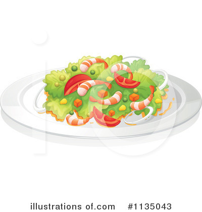 Shrimp Clipart #1135043 by Graphics RF