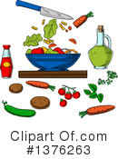 Salad Clipart #1376263 by Vector Tradition SM