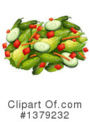 Salad Clipart #1379232 by Graphics RF
