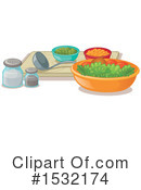 Salad Clipart #1532174 by Graphics RF