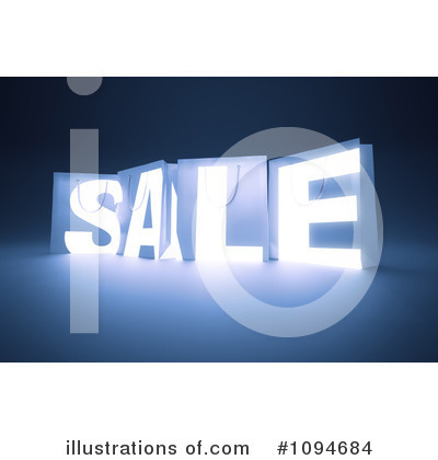 Royalty-Free (RF) Sale Clipart Illustration by Mopic - Stock Sample #1094684