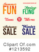Sale Clipart #1213592 by Arena Creative