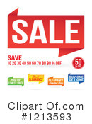 Sale Clipart #1213593 by Arena Creative