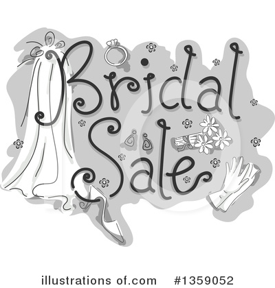 Wedding Ring Clipart #1359052 by BNP Design Studio